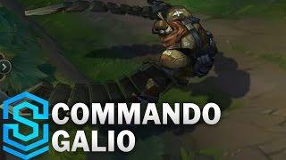 Commando Galio (2017 Rework) Skin Spotlight - Pre-Release - League of Legends
