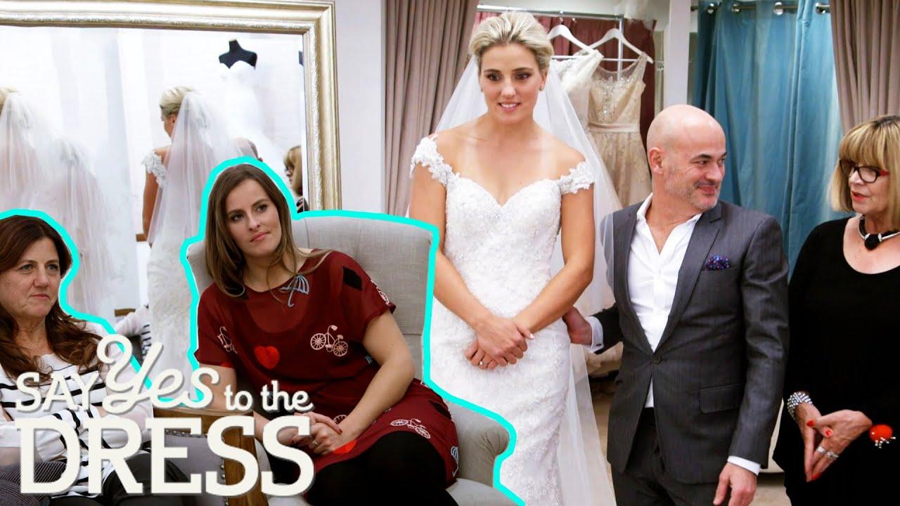 Olympian Bride Struggles To Impress 'Tough Crowd'   Say Yes To The Dress: Australia