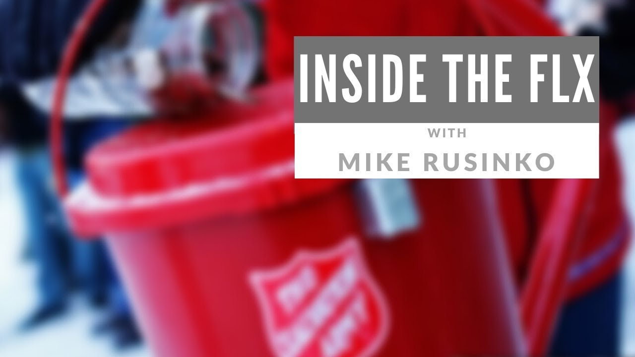 Discussing red kettles through the holiday season .::. Inside the FLX 11/28/19