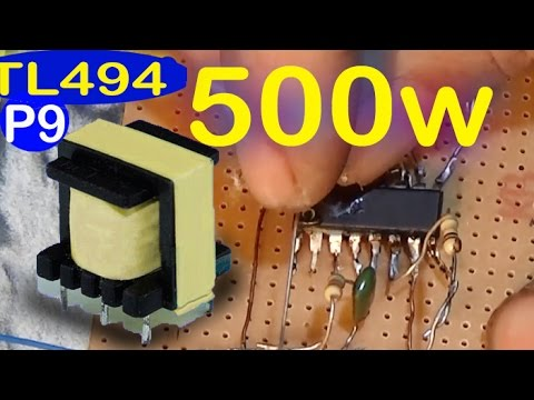 500w Low Cost 12v To 220v Inverter Circuit Diagram Feedback  Pulse Transformer