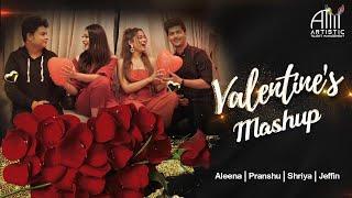 The Valentine's Mashup | Aleena | Pranshu | Shriya | Jeffin