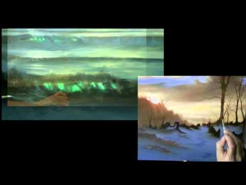 Sunrise and Sunset an Oil Painting Tutorial dvd by Alan Kingwell