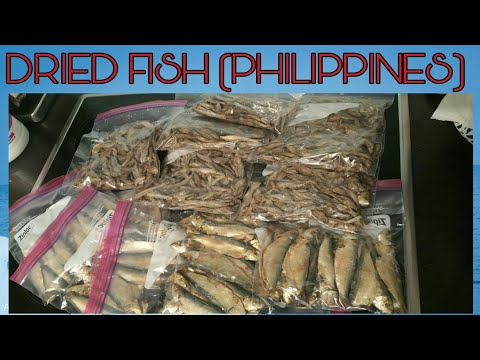 DRIED FISH FROM THE PHILIPPINES, TUYO