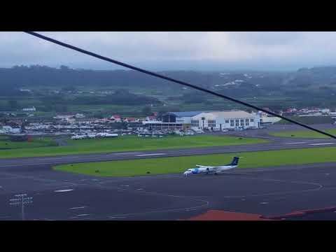 Penultima aterragem do Cmdt Vasconcelos da Sata / 16-11-2017