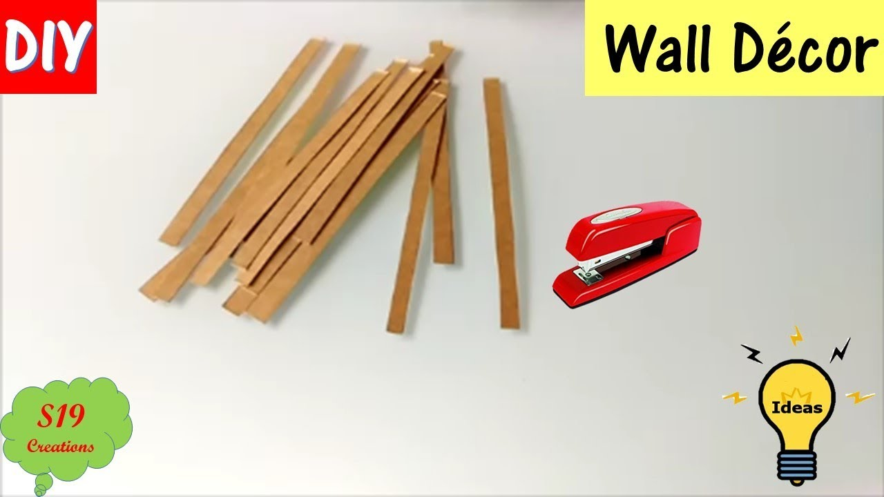 wall decor | best out of waste | wall decoration ideas | diy arts ...