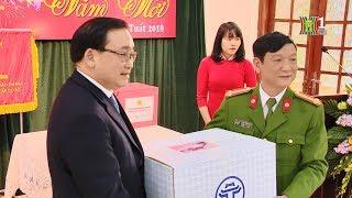Bí thư Thành ủy Hoàng Trung Hải thăm và chúc tết công an quận Hà Đông | Nhật ký 141
