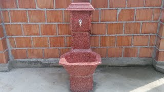 Making Drinking Fountain for the Yard
