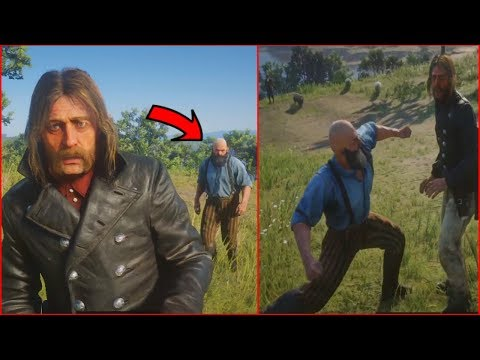 Micah Gets Knocked Out By NPC (Red Dead Redemption 2 Mod) thumbnail