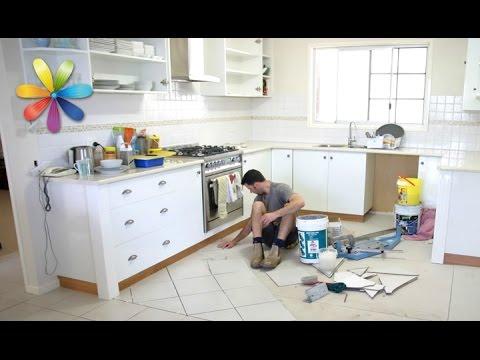 Ремонт на кухне при помощи пластиковой ложки и губки – Все буде добре. Выпуск 696 от 29.10.15