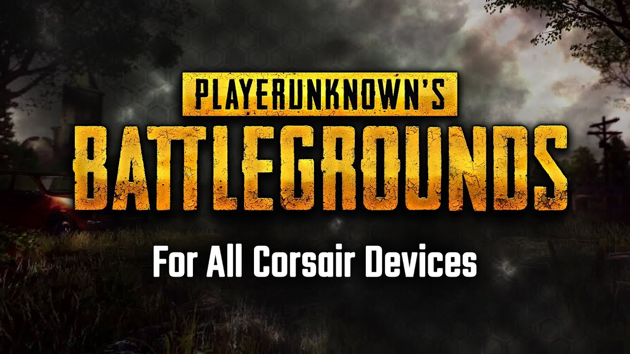 Corsair RGB Profile: PlayerUnknown's Battlegrounds