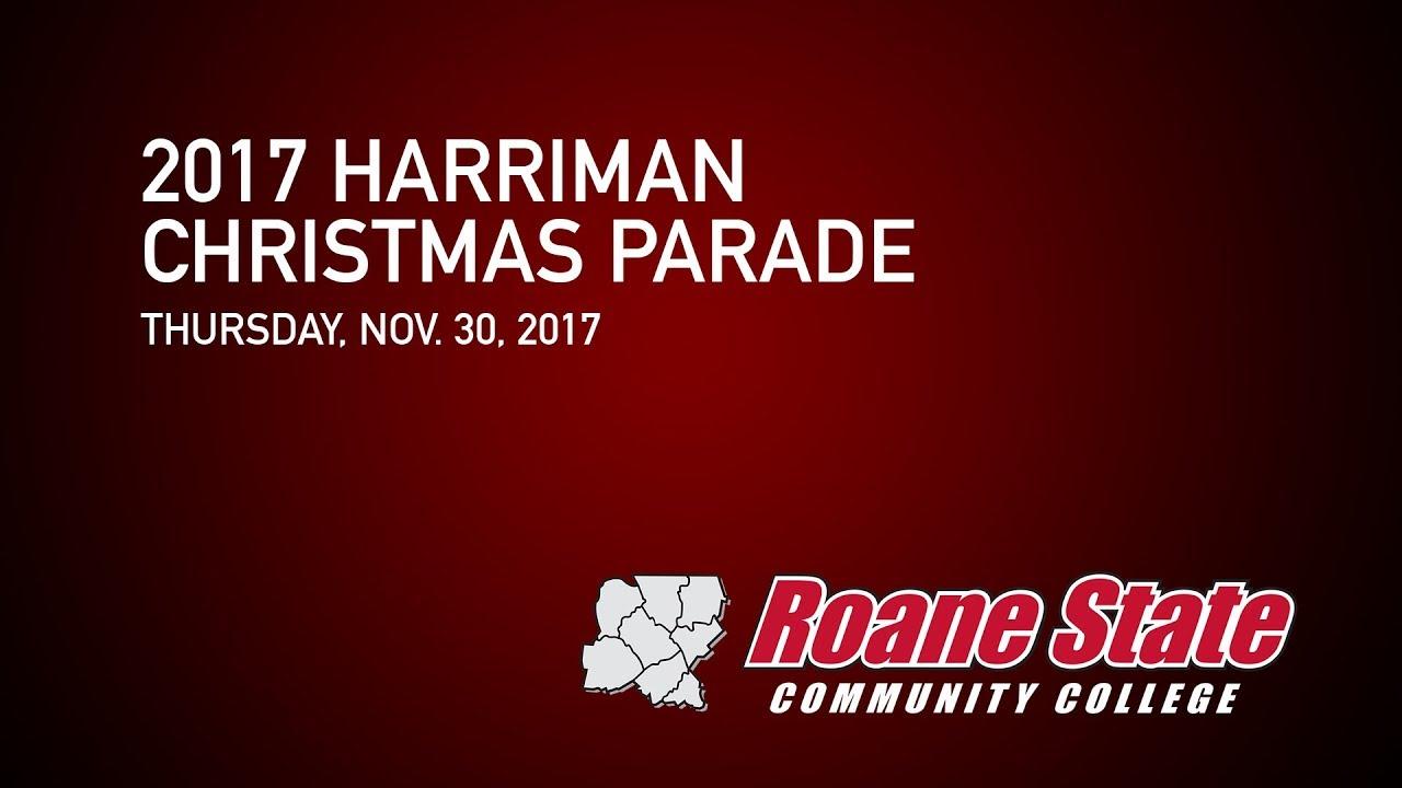2017 Harriman Christmas Parade - YouTube