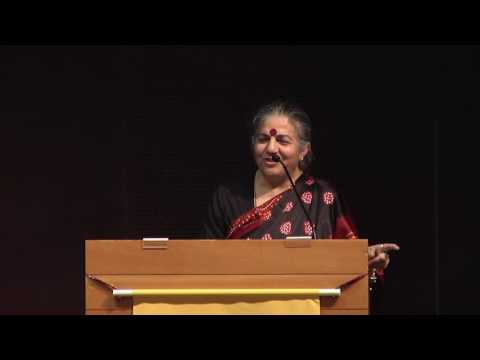 """Future of Food: Dictatorship or Democracy?"" by Vandana Shiva"
