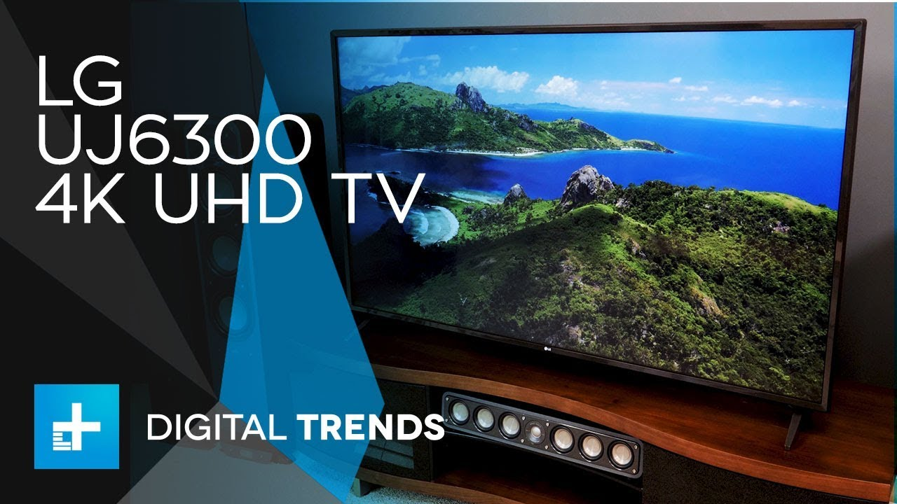 Lg Uj6300 4k Uhd Tv Hands On Review Youtube