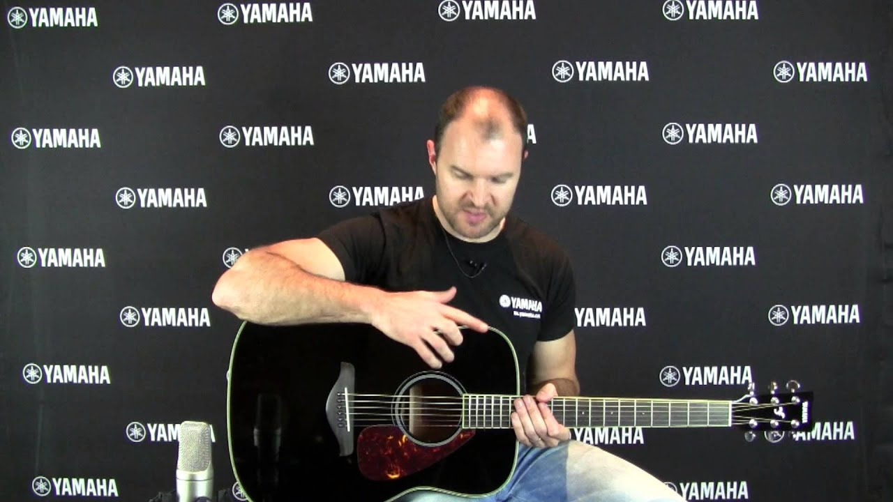 yamaha fg720s acoustic guitar with loop control youtube for