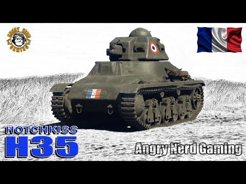 War Thunder: Hotchkiss Model 1935 H, French, Tier-1, Reserve