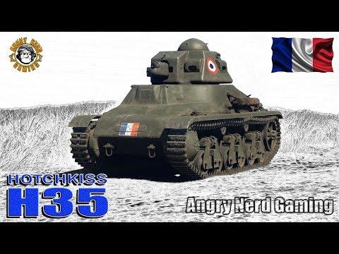 War Thunder: Hotchkiss Model 1935 H, French, Tier-1, Reserve Light Tank