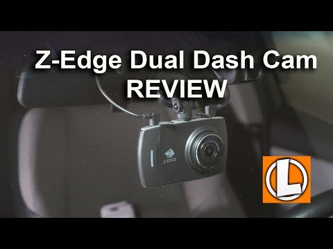 Z-Edge T4 Dual Dash Cam Review - Unboxing, Features, Settings, Setup, Day & Night Footage