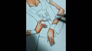 Fashion Illustration Kebaya