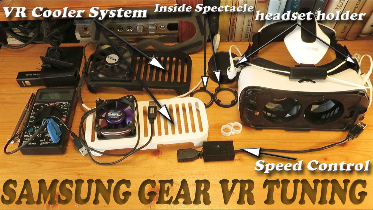 samsung gear vr tuning active cooling with speed control