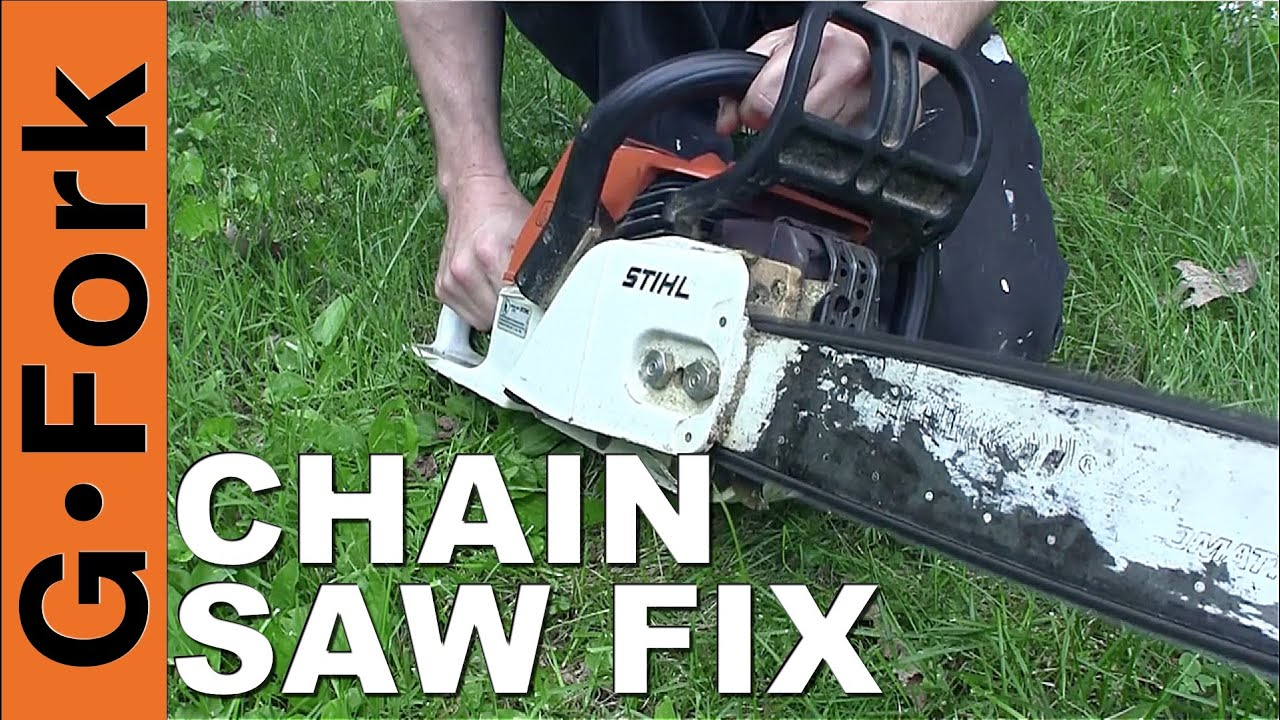 Chainsaw Wont Start Chainsaw Repair How To Gardenfork Youtube