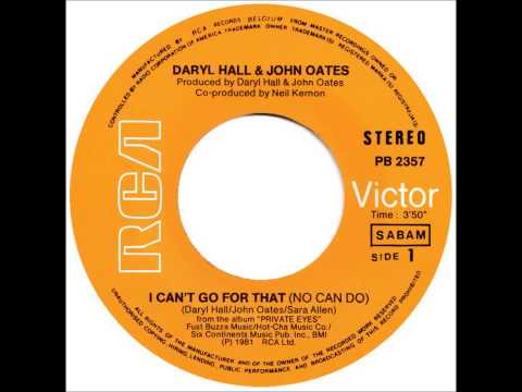Daryl Hall & John Oates - I Can't Go For That (No Can Do) - (Dj ''S'' Bootleg Extended Dance Re-Mix)
