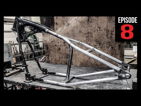 HardTail Frame Kit Install - Bobber Build - Episode 8