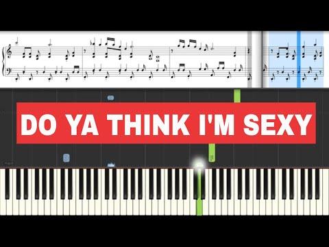 Do Ya Think (Rod Stewart) - Piano Tutorial + Sheets