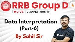 12:30 PM - RRB Group D 2019 | Maths by Sahil Sir | Data Interpretation (Part-6)