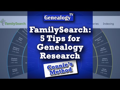 FamilySearch.org: 5 Tips For Free Genealogy Research (2020)