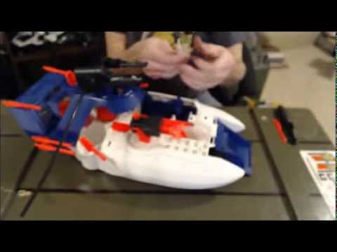 GI Joe Shark 9000 Video Review