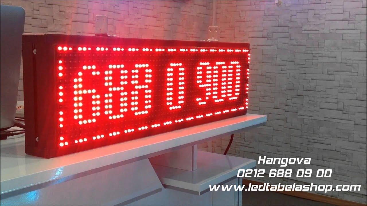 Hangova Akıllı Dijital Led Tabela