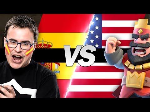 ESPAÑA vs ESTADOS UNIDOS | MGL CR Worlds | Clash Royale