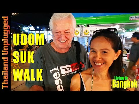 Street food at its best in Bang Na Bangkok Udomsuk Walk