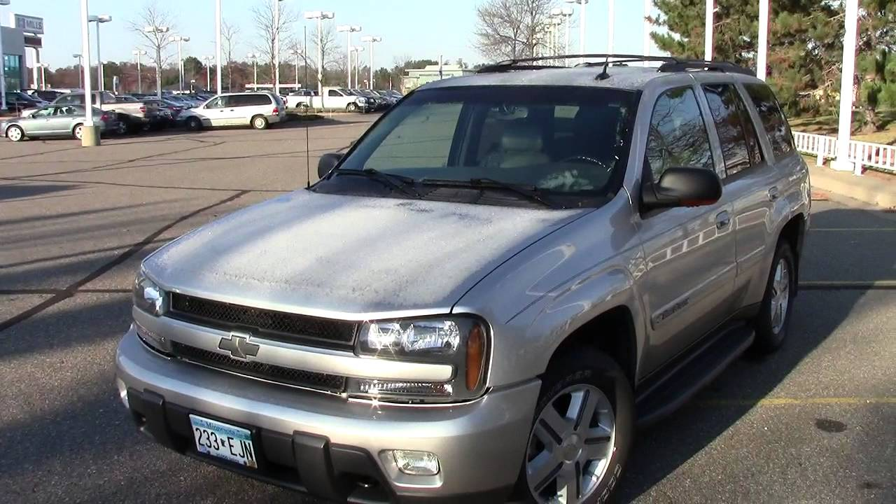 2004 Chevrolet Trailblazer >> 2004 Chevrolet Trailblazer Lt 4wd