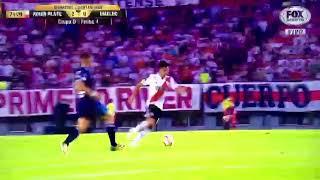 Segundo gol de River a Emelec en Argentina