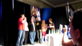 "Supernatural Chicon 2011 Mark Pellegrino sings ""Big Balls"""