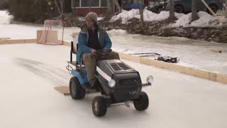 How to Make a ZAMBRONI and HOCKEY RINK