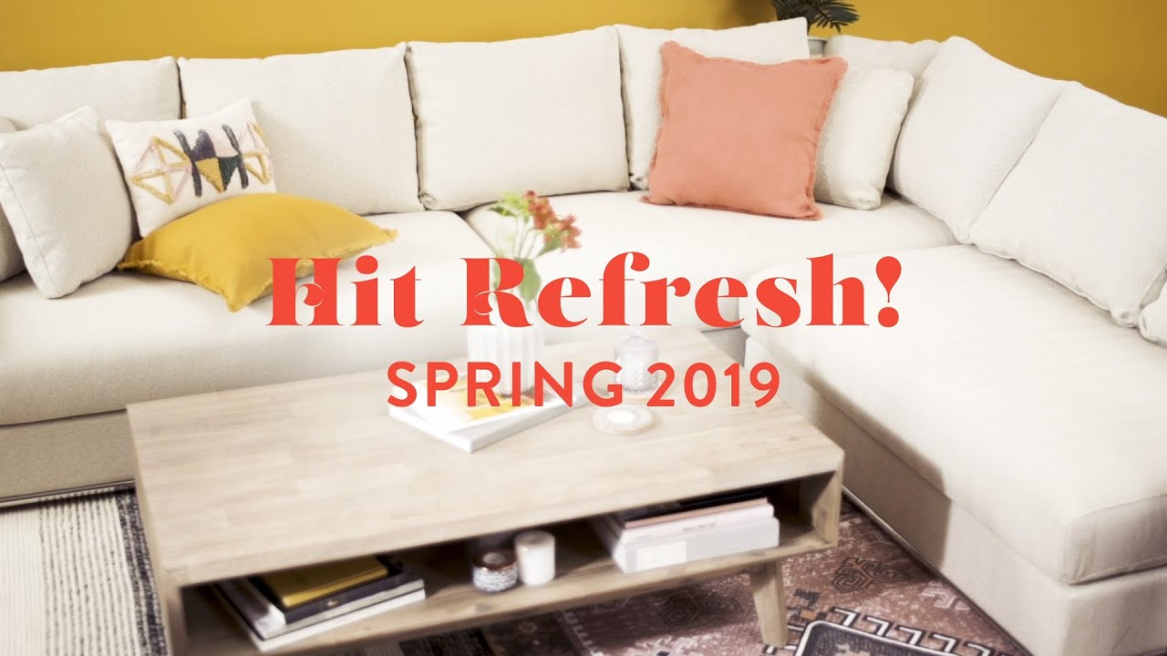 Hit Refresh | Spring 2019 Collection
