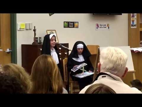 Jenna Petruzzi is Saint Marianne Cope
