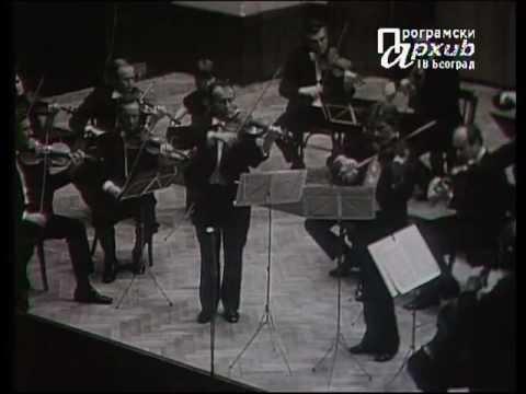 Maestro Jovan Kolundzija with Maestro Henryk Szeryng