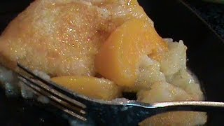 A Different Peach Cobbler