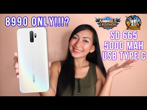 OPPO A5 2020 - FULLREVIEW (ML,PUBG,BATTERY,HEATING &CAMERA)