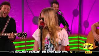 Video Avril Lavigne - What The Hell (Live @ VH1 Big Morning Buzz 23.11.2011) download MP3, 3GP, MP4, WEBM, AVI, FLV Agustus 2018