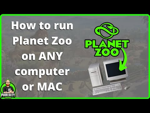 How To Run PLANET ZOO On ANY PC And Even MAC! FREE AND EASY!