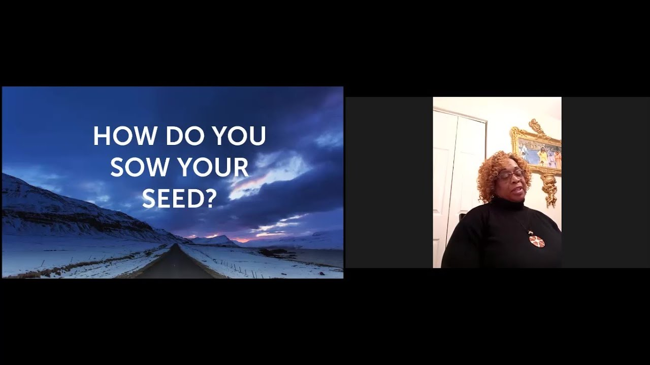PWAM Virtual Sunday Sermon 2021_0221 RESCUE MEETING How Do You Sow Your Seed?