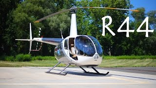 Robinson R44 Raven detailed helicopter review and flight