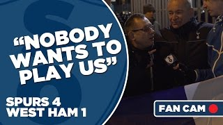 "Tottenham Hotspur 4-1 West Ham | ""Nobody Wants To Play Us"" 