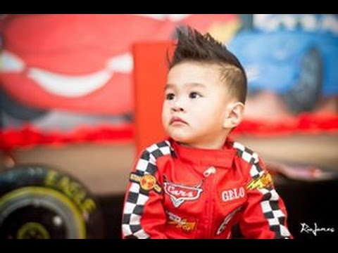 Gelo S Disney Cars 1st Birthday At Bellevue Alabang Rio Jones