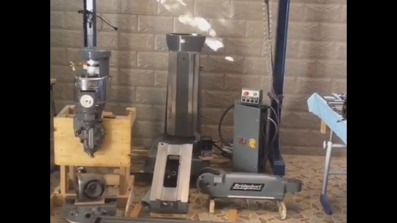 BRIDGEPORT knee mill restoration