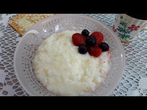 Вкусная Рисовая Каша на Молоке как в Детстве / Как Приготовить Рисовую Кашу